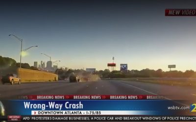 2 killed, 1 injured in wrong-way crash on Downtown Connector NB