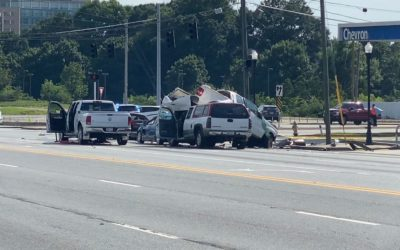 7-car crash that killed 1, injured 3 caused by driver of stolen truck, police say