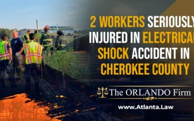 2 workers seriously injured in electrical shock accident in Cherokee County