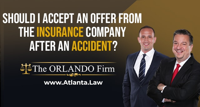 Should I accept an offer from the insurance company after an accident title