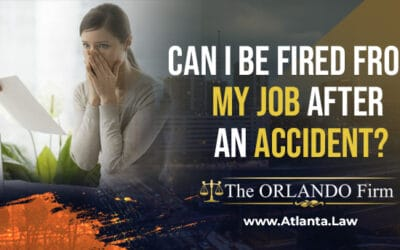 Can I Be Fired From My Job After An Accident?