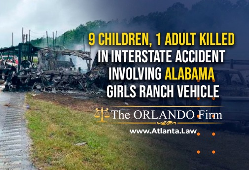 1 adult killed in interstate accident involving Alabama Girls Ranch vehicle