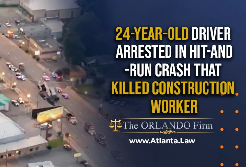 24-year-old driver arrested in hit-and-run crash that killed construction worker