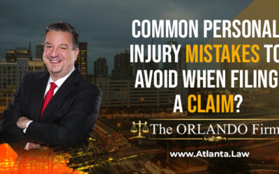 Common Personal Injury Mistakes to Avoid When Filing a Claim