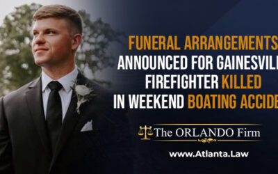 Funeral arrangements announced for firefighter killed in boating accident