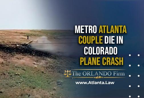 Metro Atlanta couple die in Colorado plane crash