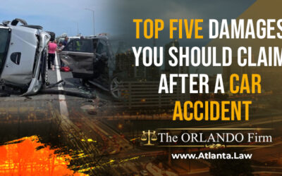 Top Five Damages You Should Claim After A Car Accident