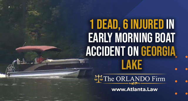 1 dead, 6 injured in early morning boat accident on Georgia lake