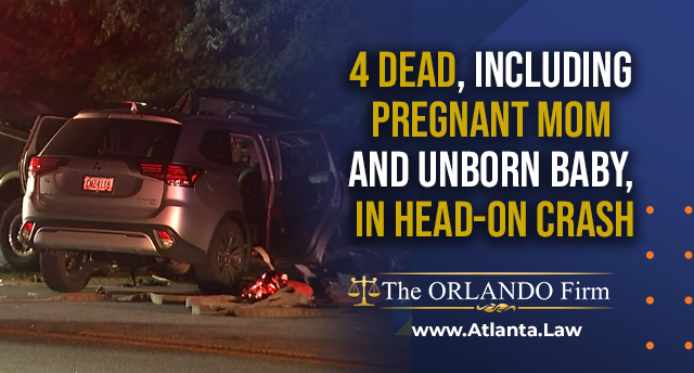 4 dead, including pregnant mom and unborn baby, in head-on crash