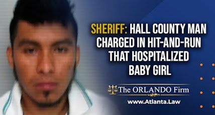 Sheriff: Hall County man charged in hit-and-run that hospitalized baby girl