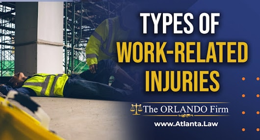 Types of work-related injuries