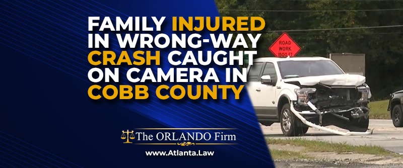 Family Injured in Wrong-Way Crash Caught on Camera in Cobb County