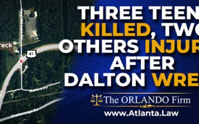 Three Teens Killed, two others Injured after Dalton Wreck